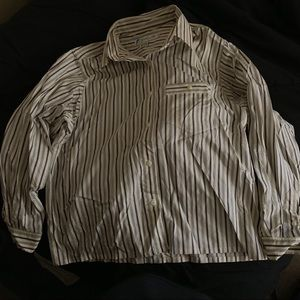 VINTAGE Striped, long-sleeve, button down